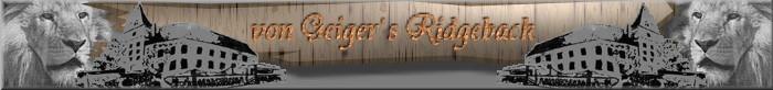 Geigers Ridgeback Banner